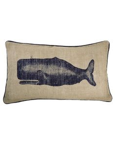 Alice Lane Home Collection » Thomas Paul: Jute Moby Seafarer Pillow