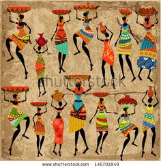 Find African Woman On Grunge Background stock images in HD and millions of other royalty-free stock photos, illustrations and vectors in the Shutterstock collection. African Drawings, African Art Paintings, Cross Paintings, African American Art, African Women, Grunge, African Shower Curtain, Afrique Art, Canvas Art