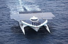 Solar-Powered Catamaran Makes 1st Circumnavigation