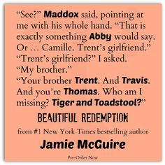 Beautiful Redemption  By Author Jamie McGuire