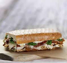 I just voted for the Toasty Ciabatta Chicken. Choose your fav for the @panerabread menu! #SandwichShowdown