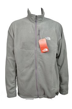 b14f27e6595b2 The North Face Men's Pebble Grey Mourne Full Zip Fleece Jacket (XL) Review