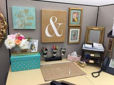 73 best Cubicle Decor images on Pinterest | Desk, Desk ...