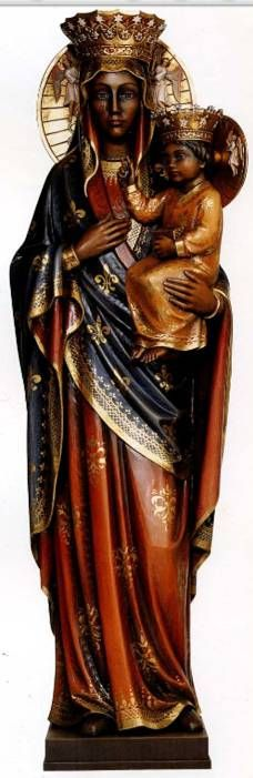 People see Mary as they see themselves, hence the Black Madonna