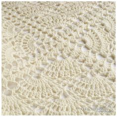 Crochet Pattern Baby Blanket,