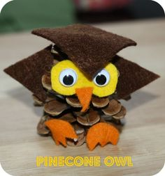 pinecone owls - how