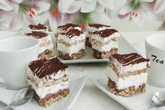 Retete Culinare - Prajitura Deliciu Romanian Desserts, Romanian Food, Nutella, Cake Recipes, Dessert Recipes, Dessert Drinks, Food Cakes, Something Sweet, Cakes And More