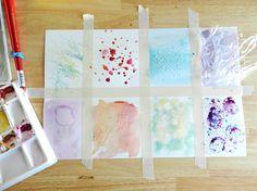 Watercolor Texture Techniques