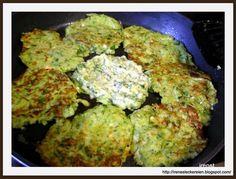 Irène`s Leckereien♥: Lauch-Zucchini-Puffer