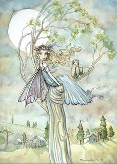 Fairy Art - Molly Harrison - Away from it All