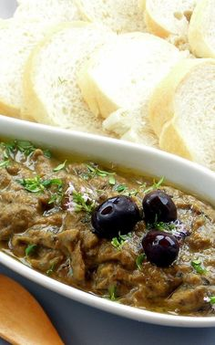 Pressure Cooker Eggplant and Olive Spread I open all of my pressure cooker demos and classes making this dip because this recipe showcases how quickly and easily the stubborn eggplant (which takes, forever to become tender) can be prepared.