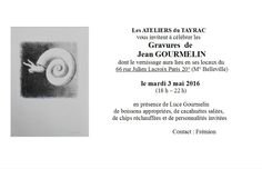 Gourmelin - Les Ateliers du Tayrac 3 mai 2016