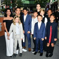 Angelina Jolie joined by all six of her kids at the premiere of #FirstTheyKilledMyFather movie at Toronto International Film Festival 2017. The movie based on Cambodia human rights activistLuong Ungs memoirFirst They Killed My Father. It's about a young girl under the brutal rule of the Khmer Rouge. The film is a passion project for Jolie who said she was motivated to make the film by Maddox who was born in Cambodia. First They Killed My Fatherwill launch globally onNetflix onSeptember 15th…