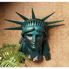 Design Toscano Statue of Liberty 1886 Wall Frieze ** Home decor details can be found by clicking on the image.