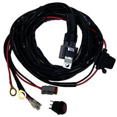 Rigid 40193 Wire Harness For 10 In.44; 30 in. Light Bar - Brought to you by Avarsha.com