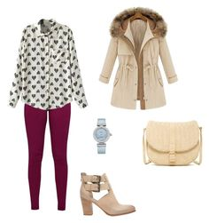 """#246"" by snows22 on Polyvore featuring moda, Great Plains, Mint Velvet, Deux Lux e OMEGA"