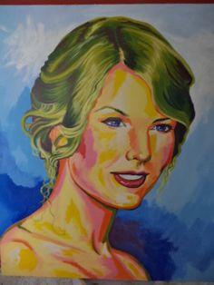 retrato 1 acrilico/tela