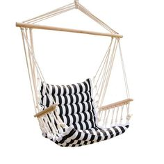 UHOM Hanging Hammock Swing Chair Patio Seat with Wood Stick Indoor/Outdoor - Good quality and fast shipping.This UHOM that is ranked 251680 in the list of the t Patio Seating, Patio Chairs, Outdoor Chairs, Indoor Outdoor, High Chairs, Modern Chairs, Desk Chairs, Office Chairs, Room Chairs