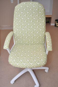 Office Chair Redo.