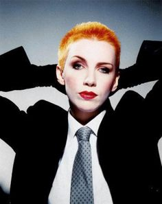 My 80's muse, Annie Lennox. I wanted to be her. I still love her music.