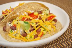 Baja Chicken Tacos - Great recipe! Must use the link for the Black Bean & Corn Salsa at the end of the recipe. :)