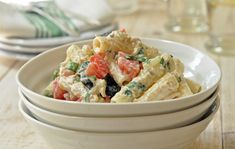 tuna pasta salad with tomatoes