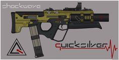 Quicksilver Industries: 'Margay' PDW by Shockwave9001.deviantart.com on @deviantART