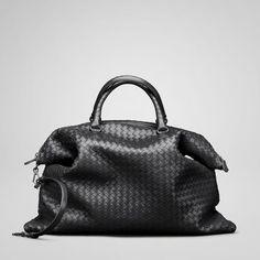 Bottega Veneta Nero Pillow Bag