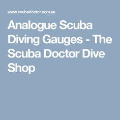 Analogue Scuba Diving Gauges - The Scuba Doctor Dive Shop