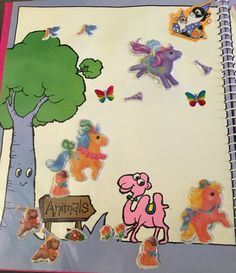 My sticker collection my little pony