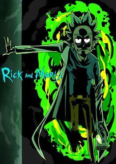 The god of destruction and creation! Earth Rick 𓁹 - The god of destruction and creation! Earth Rick 𓁹 - Rick And Morty Image, Rick Und Morty, Rick And Morty Drawing, Rick And Morty Tattoo, Rick And Morty Quotes, Rick And Morty Poster, Trippy Wallpaper, Cartoon Wallpaper, Marvel Wallpaper