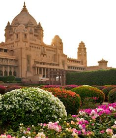 Umaid Bhawan Palace in Jodhpur, India