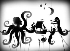 Shadow Theater Tales: series of graphical artworks by Alexander Ovchinnikov (Moscow, Russia) 2009