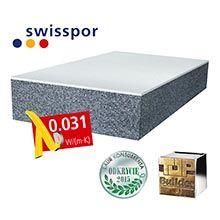 Swisspor LAMBDA WHITE stabil 031 styropian grafitowy fasadowy z białą powłoką - Odkrycie roku 2015 / Builder