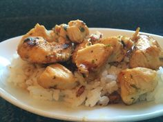 *Riches to Rags* by Dori: Cilantro Lime Chicken over Sticky Rice