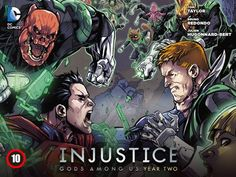 Injustice: Gods Among Us - Year 2 #10  #superman #batman #greenlantern #dccomics #wonderwoman #comics #art #drawing @deviantART
