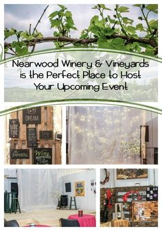(ad) Nearwood Winery and Vineyards is the Perfect Place to Host Your Upcoming Event via @BeckyRyanWillis #NearwoodWinery @NearwoodWinery