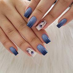 40 trending early spring nails art designs and colors 2019 045 producttall com Elegant Nails, Stylish Nails, Spring Nail Art, Spring Nails, Toe Nail Designs, Nail Art Hacks, Blue Nails, Nails Inspiration, Hair And Nails