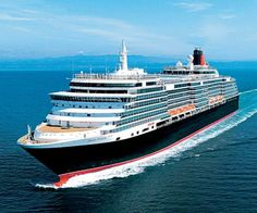 The Queen Victoria ship in all her glory