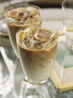 No need to pour a pot of leftover brewed coffee down the drain. Freeze the liquid in ice-cube trays to add to iced coffee instead of regular ice cubes. Your coffee won't lose its potency as the cubes melt.  - WomansDay.com