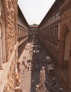 Uffizi Corridoio vasariano Firenze