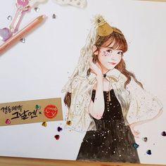 오늘은 할로윈데이🖤! @dlwlrma 지은언니 (사랑합니다❤) #아이유 #경동제약그날엔xwoony #팬아트 #아트 #art #artwork #drawing #watercolor #colorpencil #painting #iu #fanart #감사합니다 #다들아프지마세요..! Girl Drawing Sketches, Art Drawings, Cute Wallpaper Backgrounds, Cute Wallpapers, Coloring Tips, K Pop Music, Korean Art, Color Pencil Art, Kpop Fanart