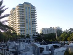 Marina Village is a luxury waterfront community located in Boynton Beach, right next to the spectacular Boynton Beach Marina. Boat slips can be purchased! Magnificent ocean, Intracoastal, marina, & city views. Walk or ride your bike to the beach, the marina, shops, and local restaurants! Impact glass windows. Five star amenities. Prices of condos in Marina Village go from $199,000 - $730,000.  https://sites.google.com/site/boyntonbeachrealestate/marina-village