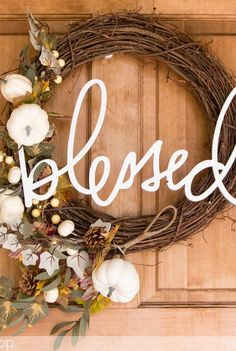 18 Thanksgiving Wreaths That Ll Prove You Re The Hostess With Mostess Holiday Spirit