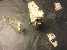 Star Wars X Wing - Interesting use for my second Shuttle...