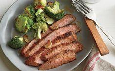 Cowboy Flank Steak & Campfire Beans--Yummy!!!