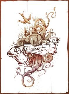 Vector Ink Anyone? Create an Abstract Tattoo Design in Adobe Illustrator