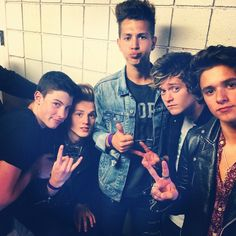 The Vamps & Shawn Mendes.