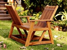 Conversational Chair... love it.