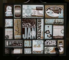 January Printertray by Nichol Magouirk